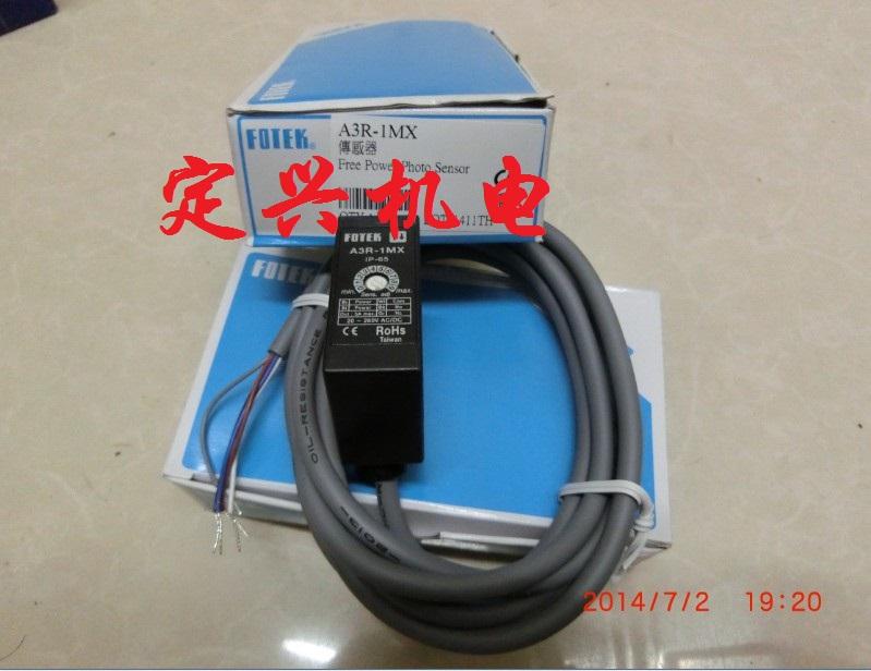 FOTEK A3R-1MX A3R-2MX A3R-30X阳明光电开关  FOTEK A3R-1MX A3R-2MX A3R-30X阳明光电开关 特点: 1、广泛工作电压DC12-240V or AC24-240V。 2、多重突波吸收回路,有效防止突波破坏。 3、採高亮度,低耗电流,投受光晶体,调变发射,感应距离特长,耐外乱光性特强。 4、高容量继电器输出3A/250V。 5、坚固结构IP-67(选购)适用于各种环境。 6、偏极光镜片反射型(A3G-4MRE),更便利于发亮物体之检测。